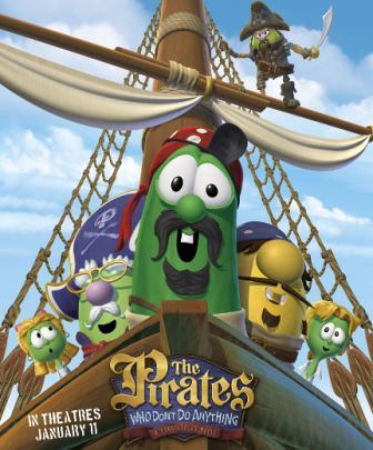 Veggie Tales piratesmovie