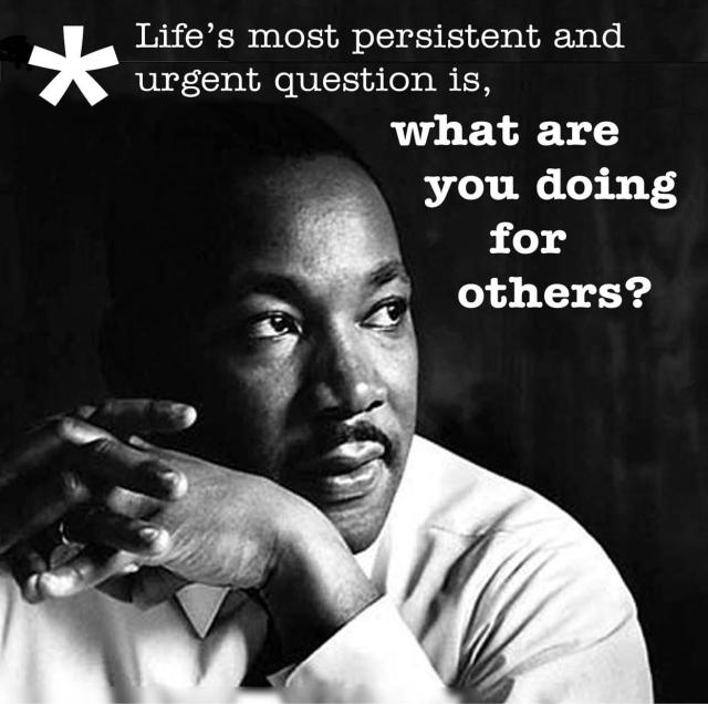 MLK for others